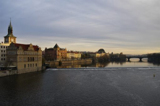 What's the cost of living in Prague? View from Charles Bridge