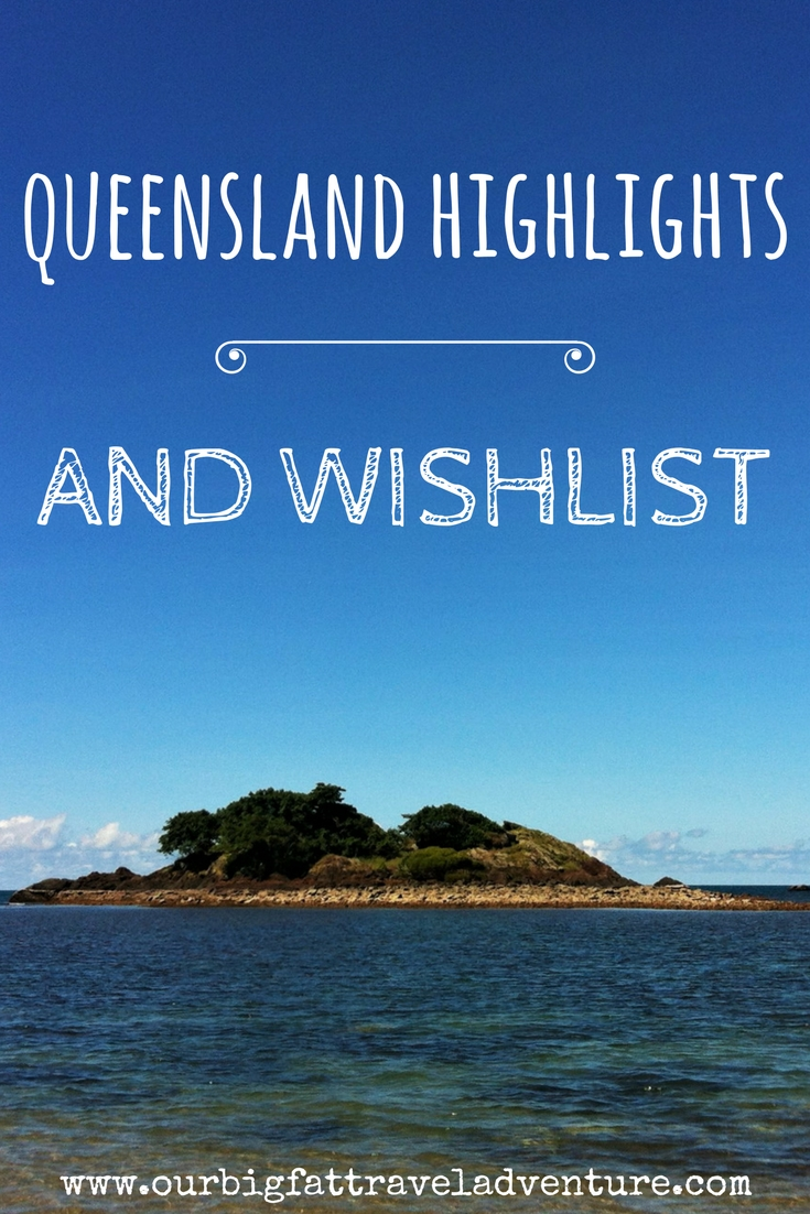 queensland highlights and wishlist pinterest pin
