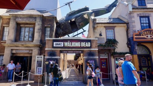 The AMC Walking Dead attraction at Universal Studios Hollywood