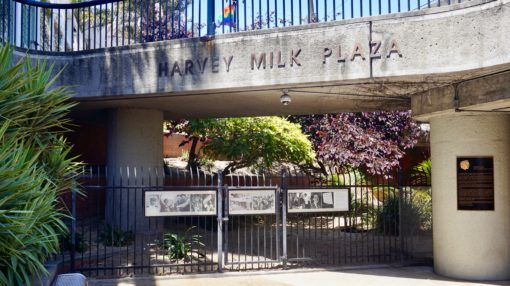 The Harvey Milk Plaza Memorial in San Francisco