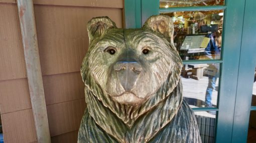 Bear Statue at Muir Woods, California