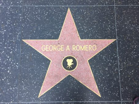 George Romero star on the Hollywood Walk of Fame