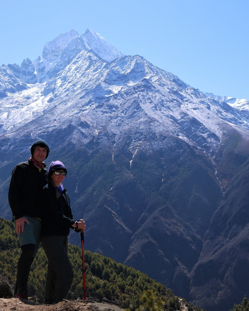 Us in the Khumbu Valley, Nepal