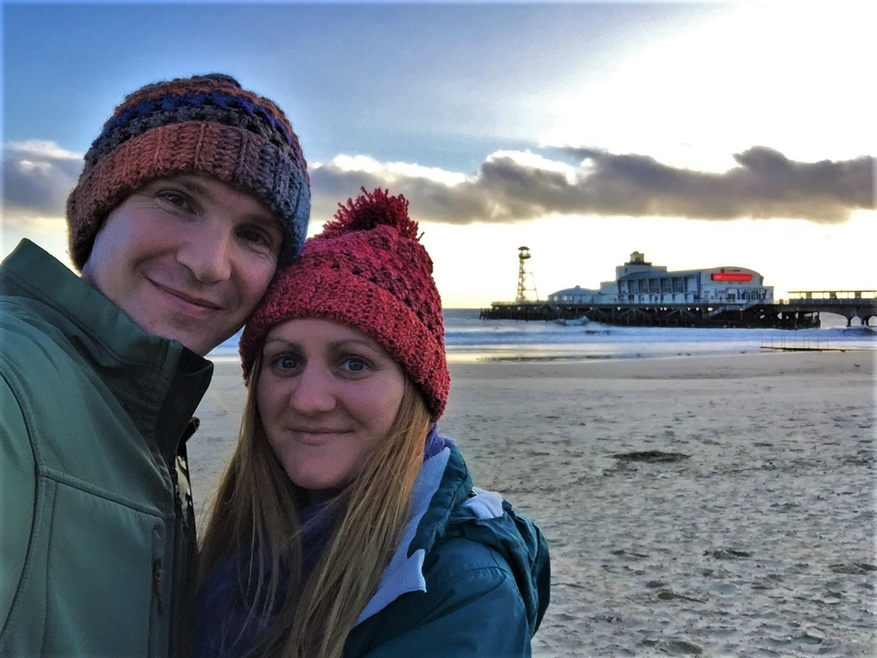 Us freezing in Bournemouth