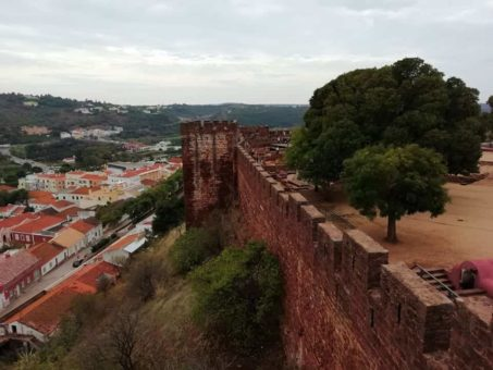 Silves Castle, the Algarve