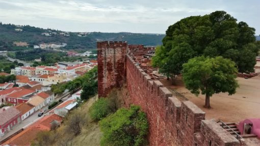 View from the fort in Silves, the Algarve, Portugal
