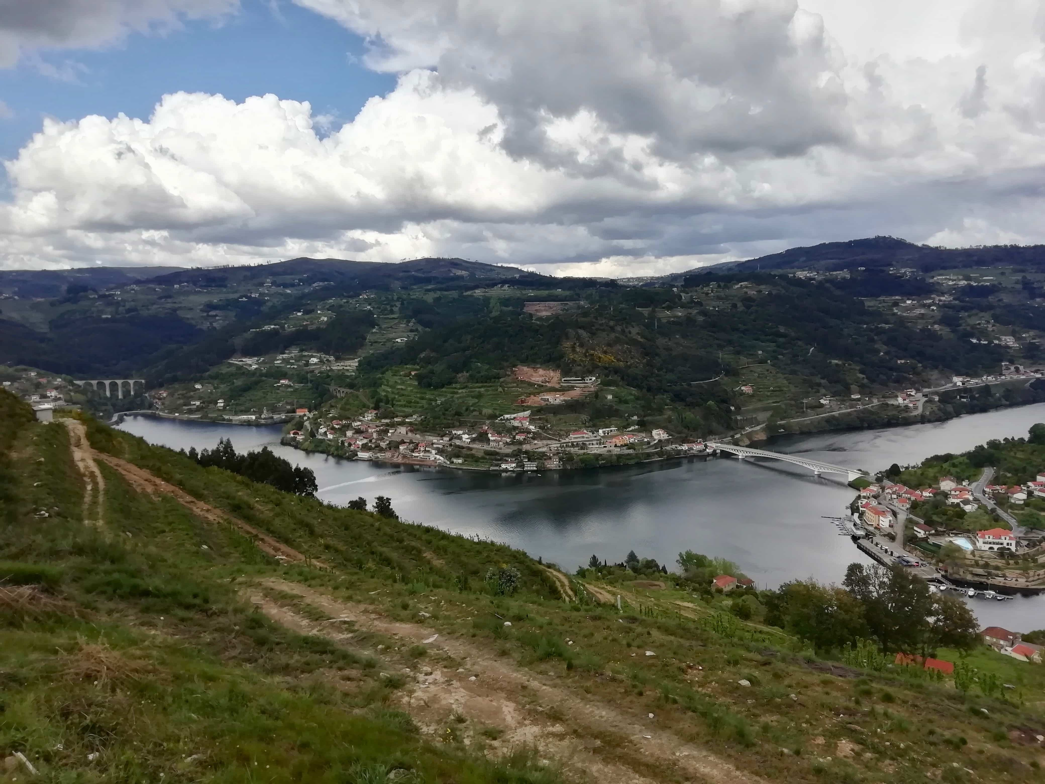 Driving the Douro Valley, an aerial view