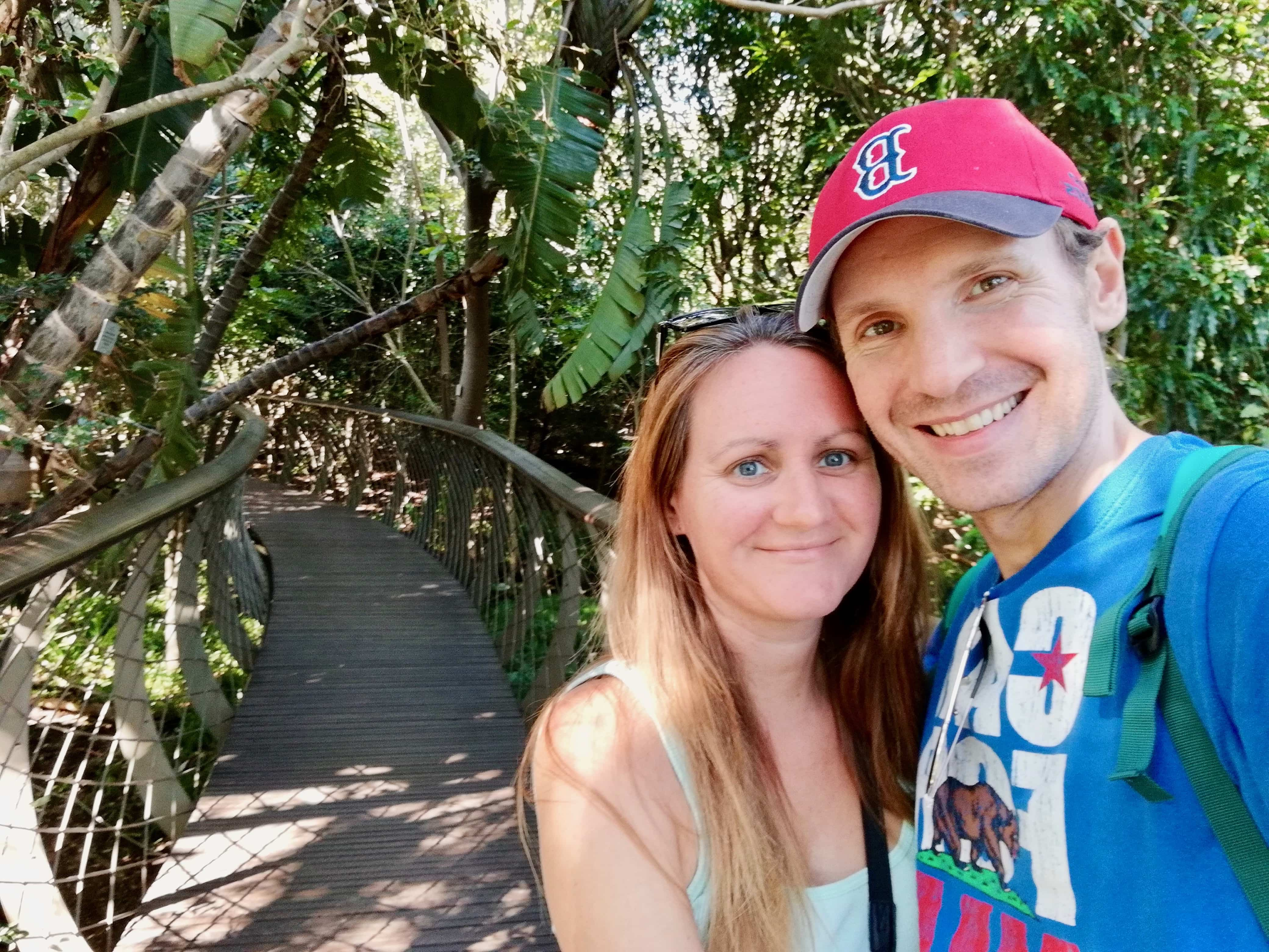 Visiting the Kirstenbosch Botanical Gardens, activities in Cape Town South Africa