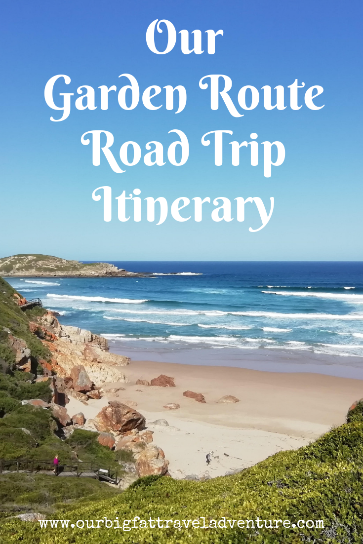 Our Garden Route Road Trip Itinerary Pinterest Pin