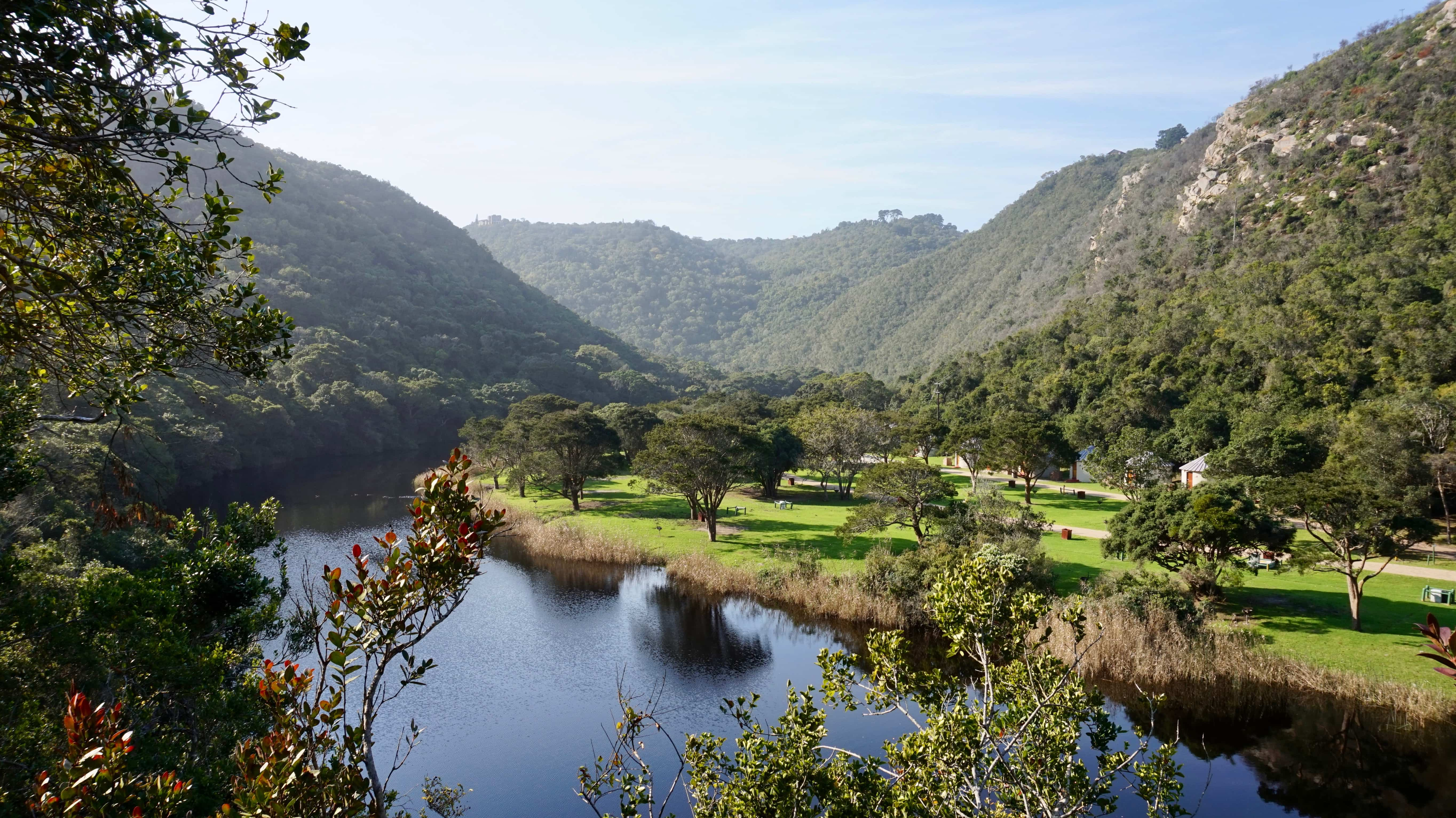 Garden Route National Park, Wilderness section, view over the river