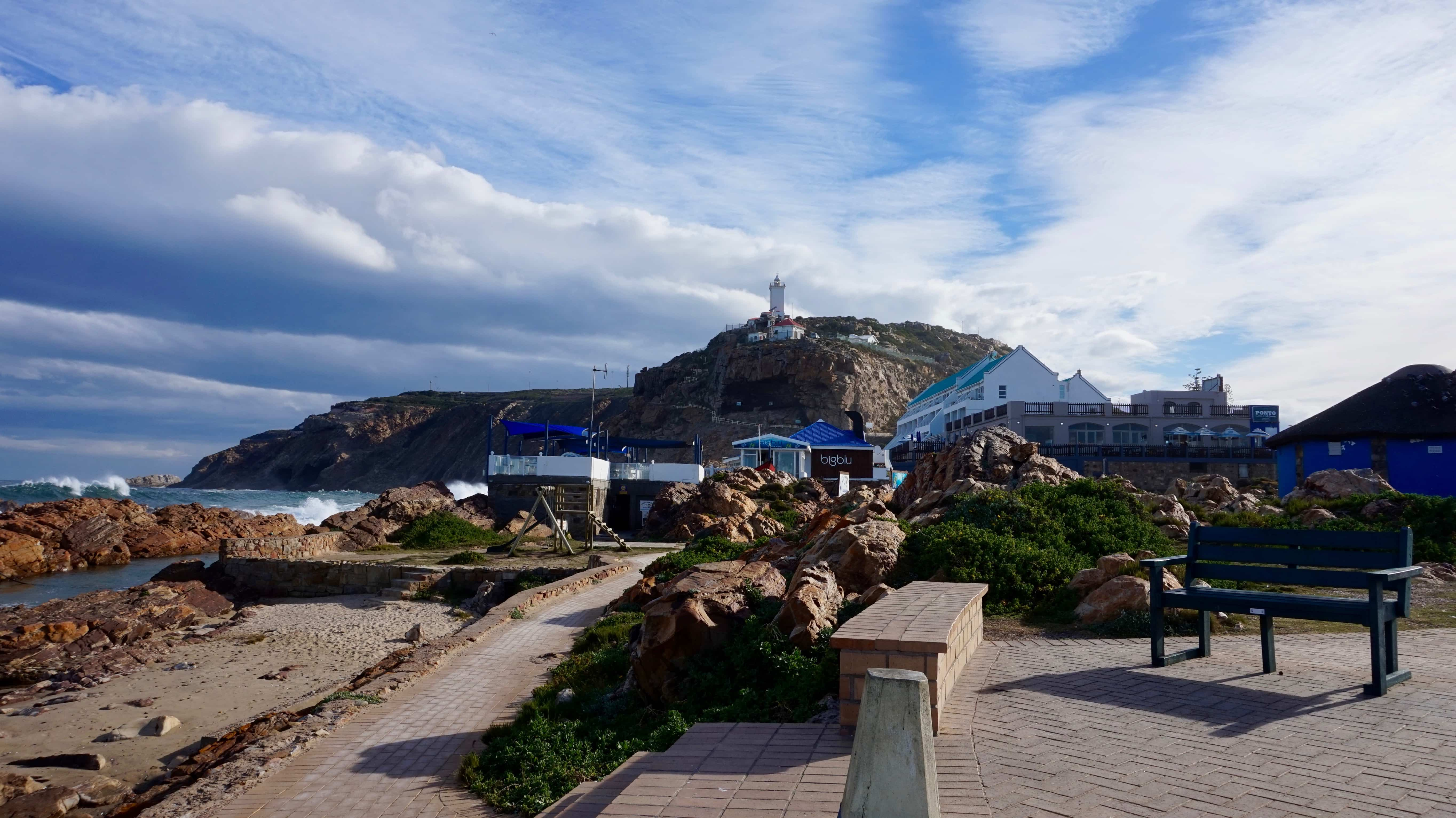 Mossel Bay view of the lighthouse, Garden Route South Africa