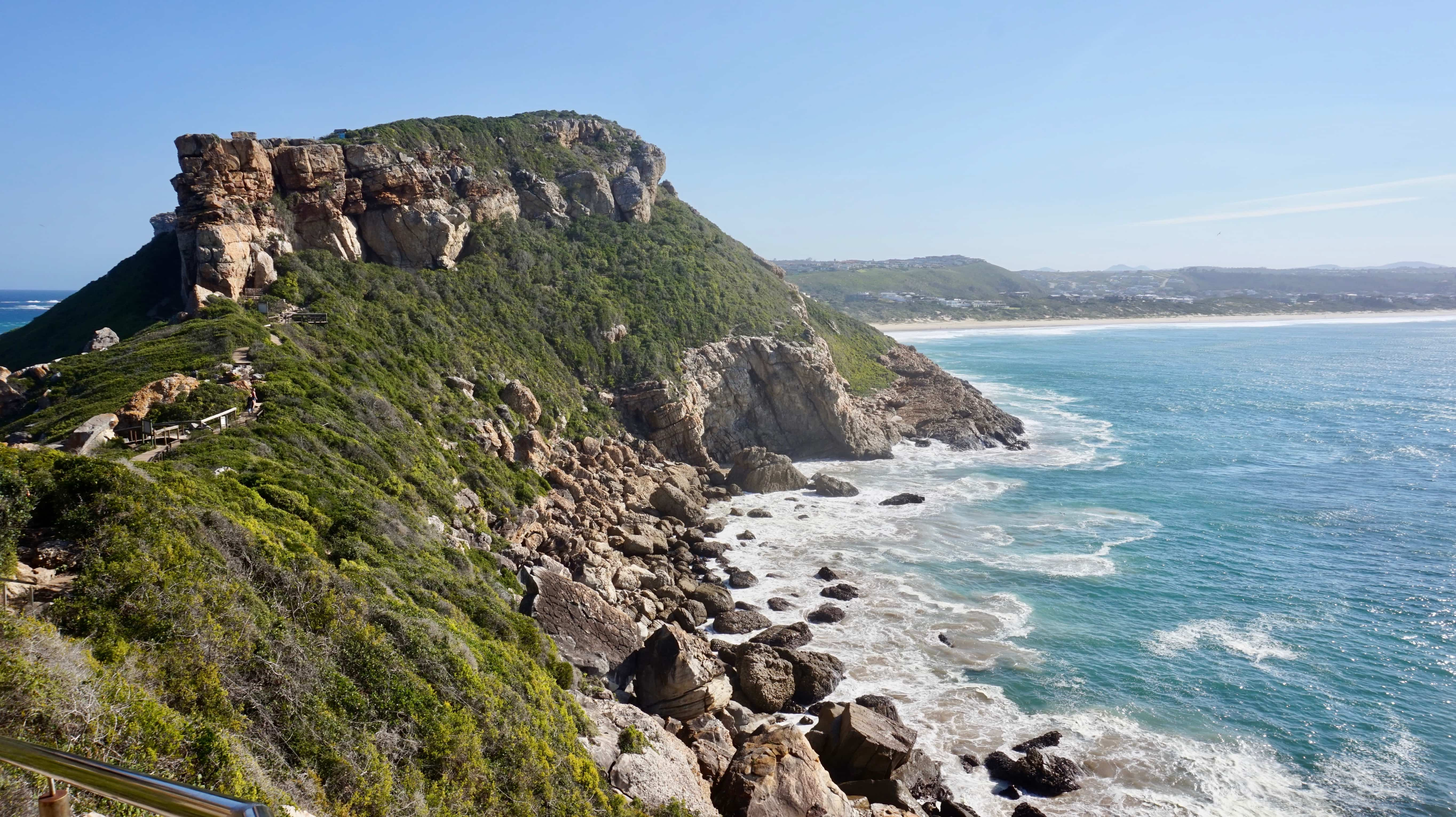 Robberg Nature Reserve cliff-top view