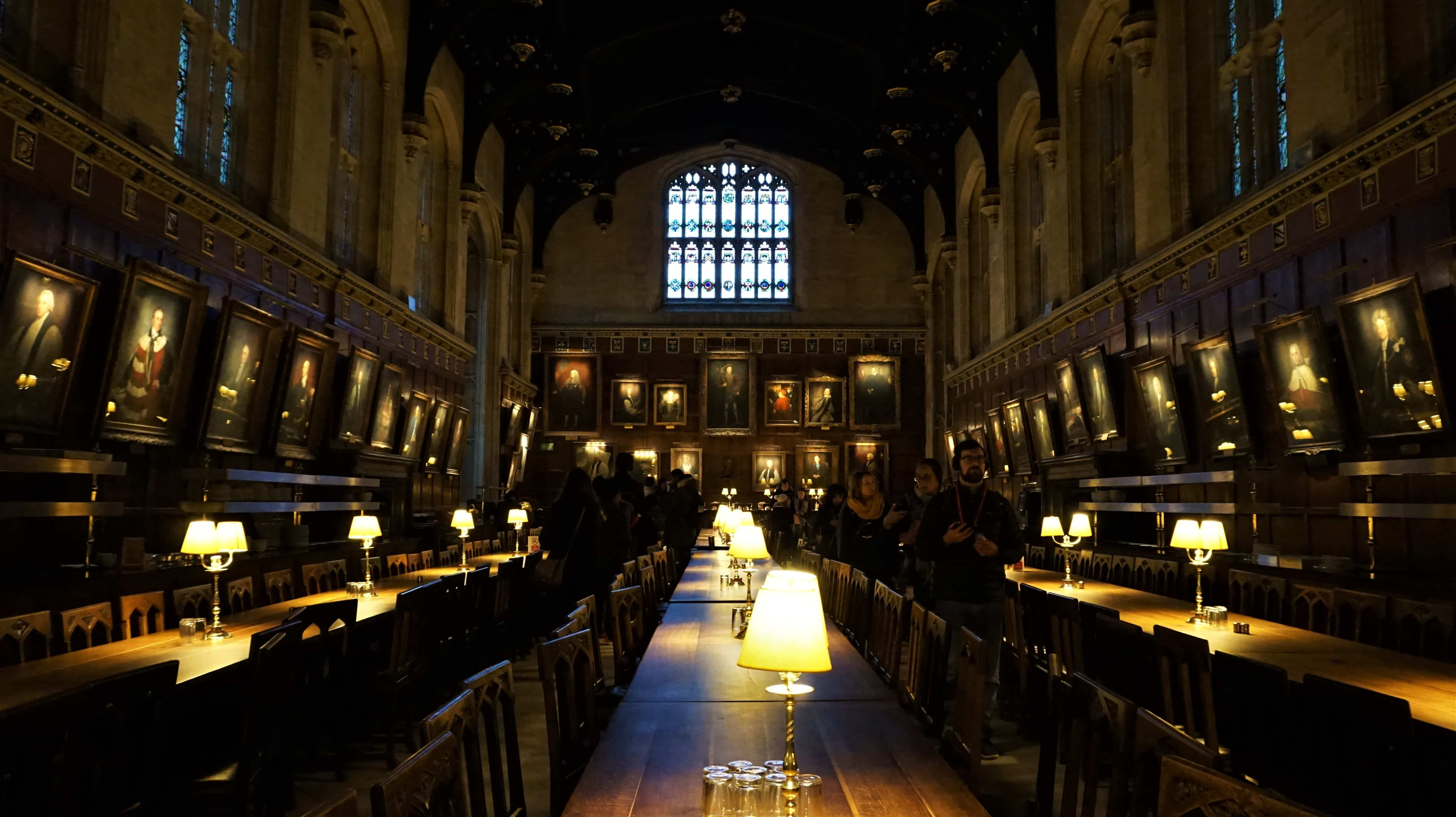 The Great Hall in Christ Church College, Oxford
