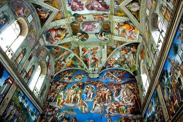 Our Top 10 Things to do in Rome - Sistine Chapel