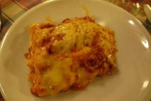 Lasagna in Rome - Food in Rome