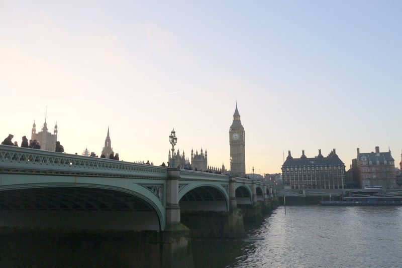 Big Ben & The Thames