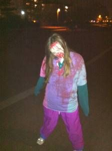 Amy's Chave Zombie Costume