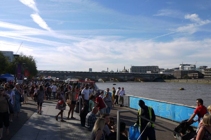 The Southbank in Summer