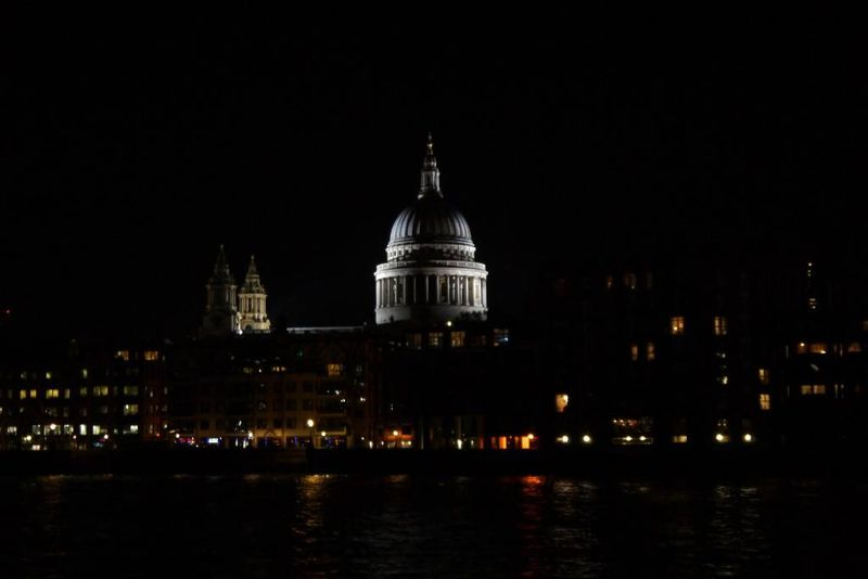 St Paul's Cathedral across the Thames