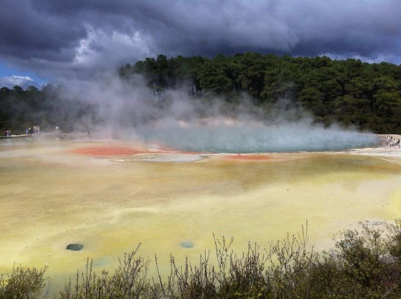 Sulphur Lake, New Zealand