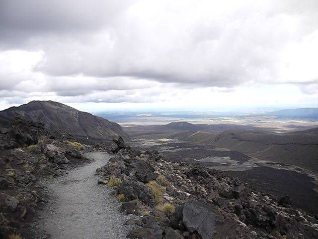 The Tongariro Alpine Crossing, New Zealand