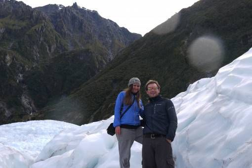 Our Helihike on Fox Glacier, New Zealand