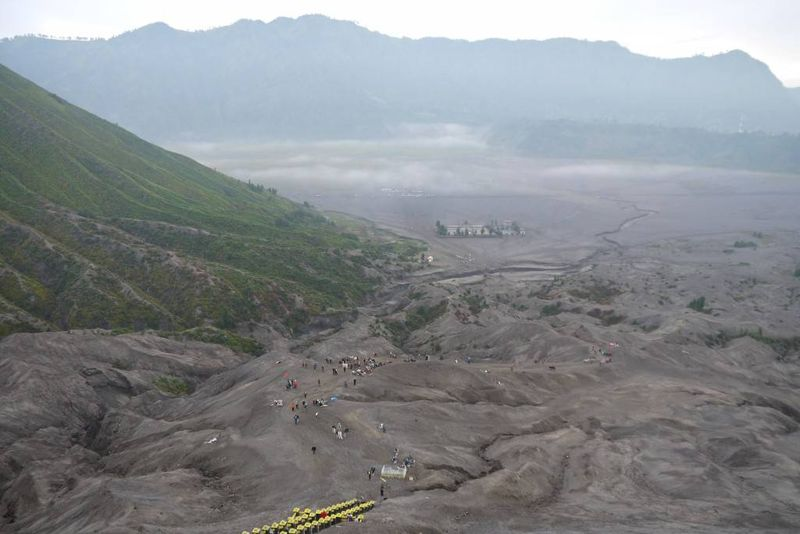 View from the top of the Volcano