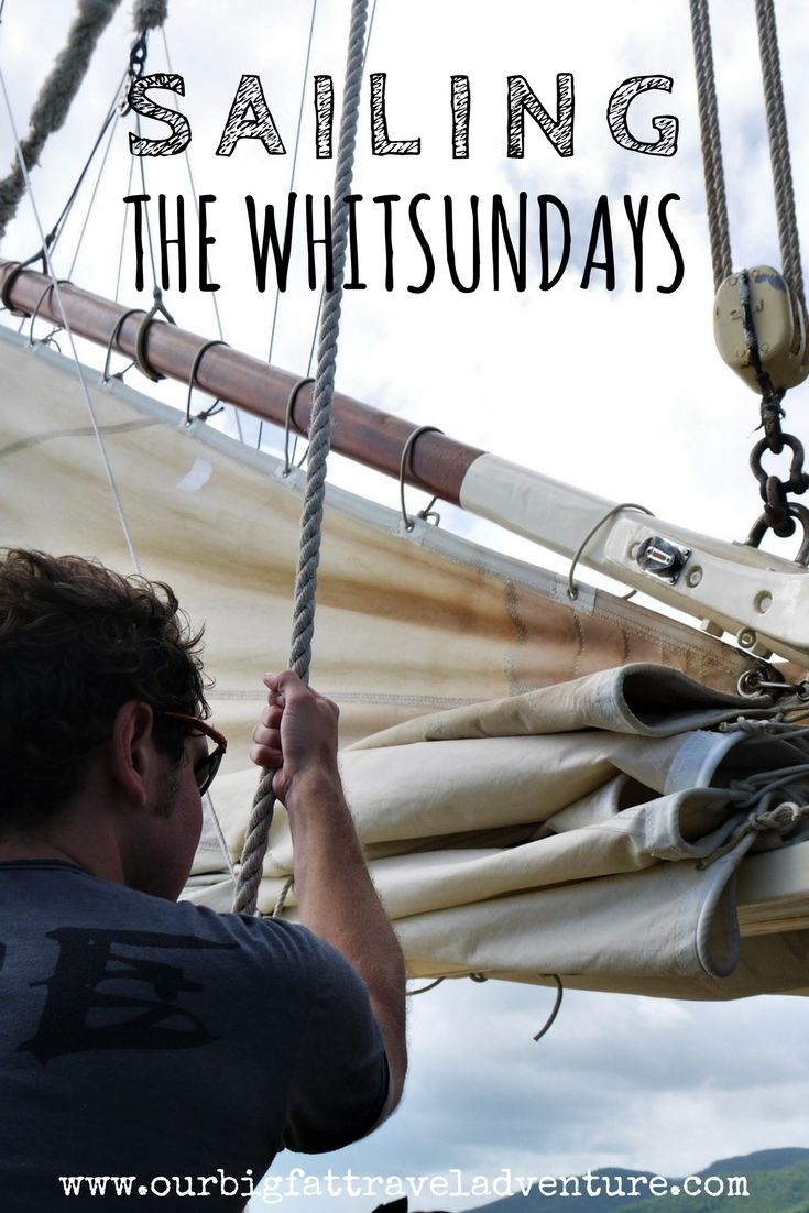 We spent a day sailing the Whitsundays with Tall Ship Adventures on the Derwent Hunter. Here's the story, pictures and video of our day sailing around the Whitsunday islands.