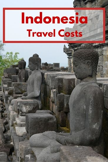 Indonesia travel costs
