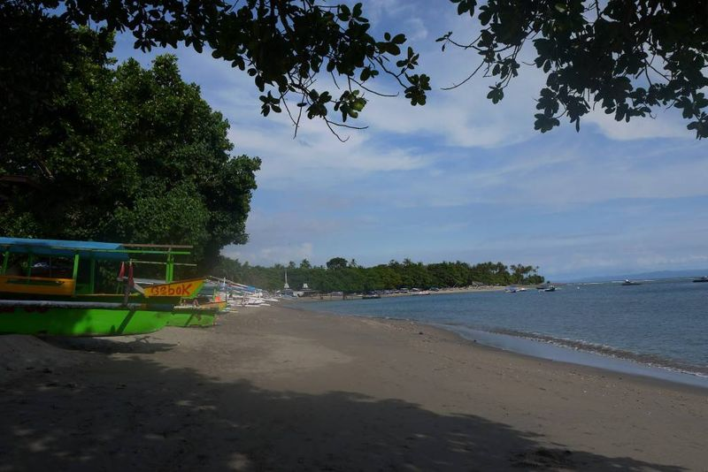 Beach in Senggigi, Lombok