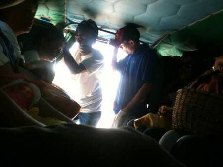 Packed Jeepney in the Philippines