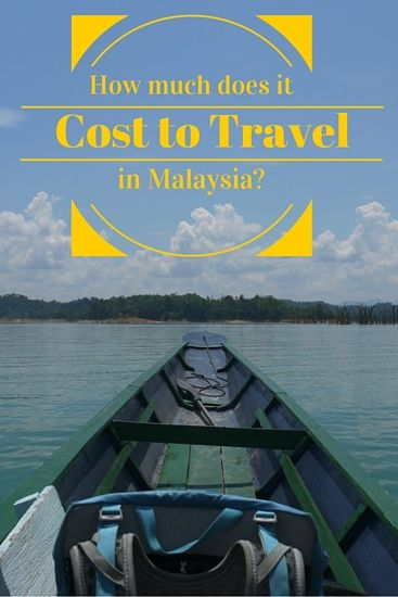 How much does it cost to travel in Malaysia-