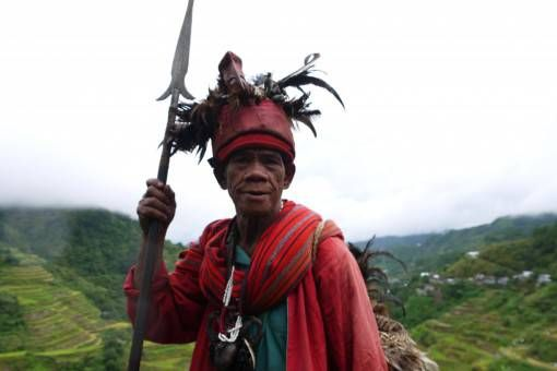 Local Man in Banaue, the Philippines