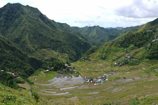 The View from the Top of the Batad Rice Terraces