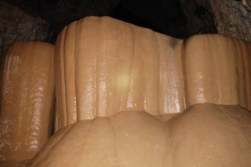 Rock Formations in Sumaguing Cave