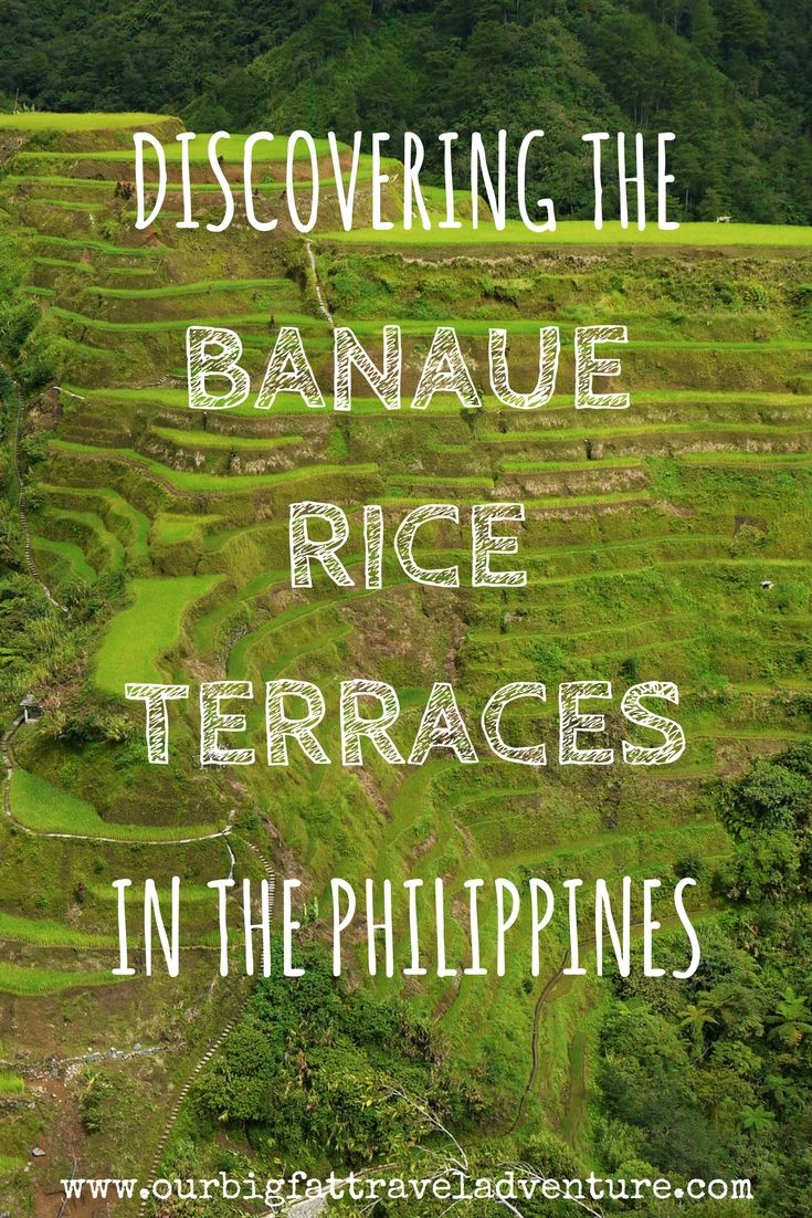 The Banaue rice terraces are the most beautiful place we've been so far on our round the world trip; here are our pictures from visiting Banaue