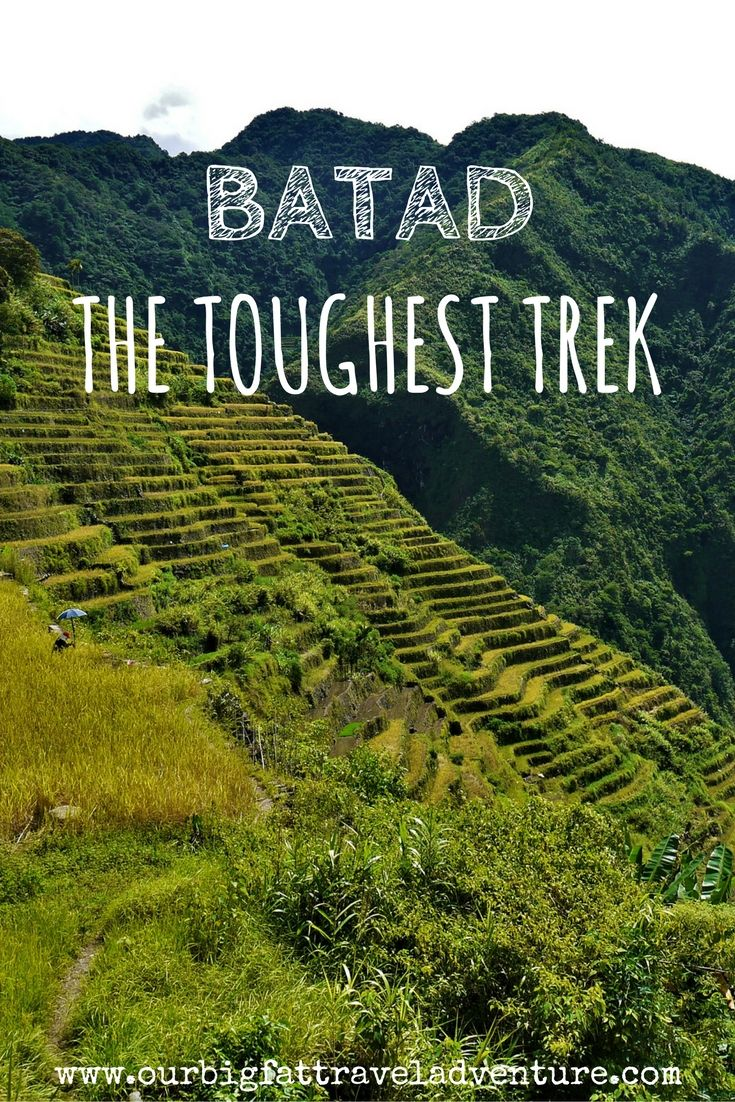 Batad, the toughest trek Pinterest