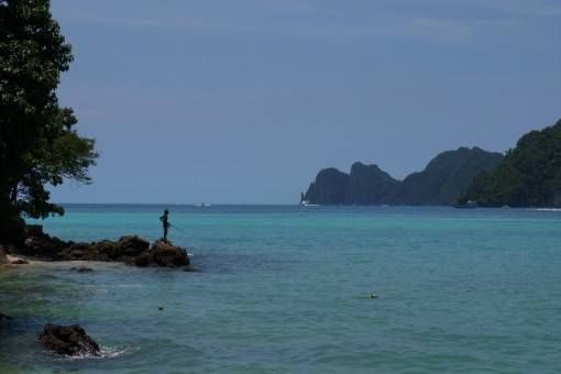 Fishing on Koh Phi Phi