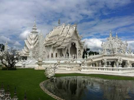 The White Temple, Chiang Rai Thailand