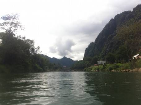Tubing Down the Nam Song River, Laos