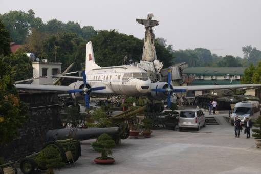 Planes at The Army Museum in Hanoi