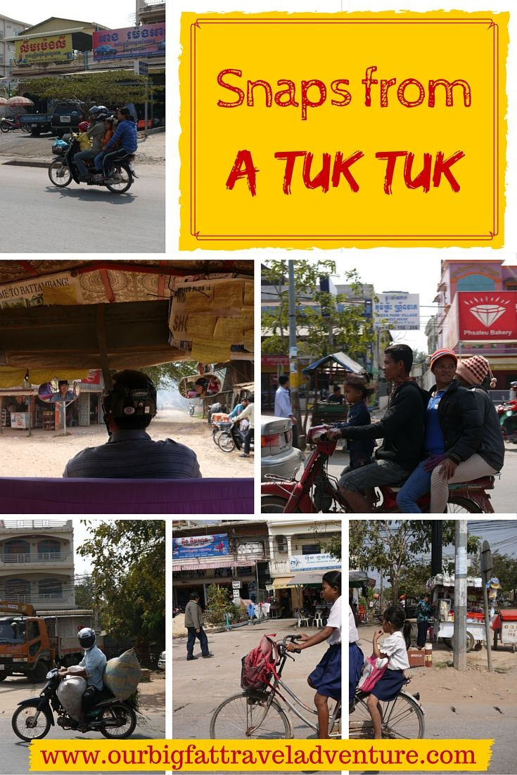 Snaps from a tuk tuk, Pinterest