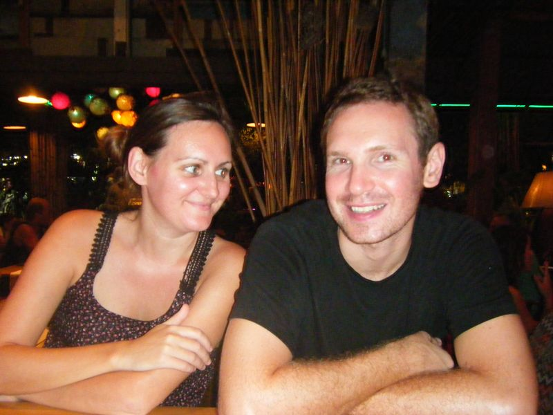 Andrew and I in Bangkok