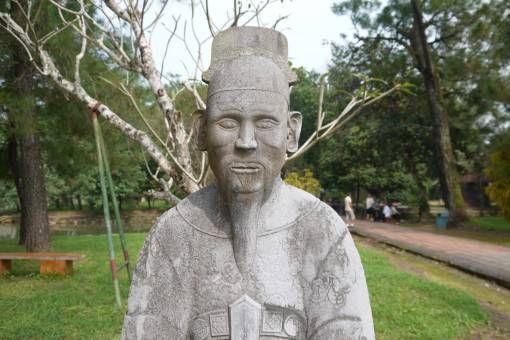 Statue in Hué, Vietnam