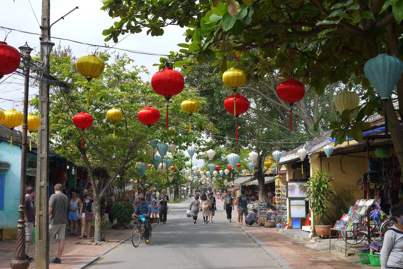 Lanterns in the Streets of Hoi An