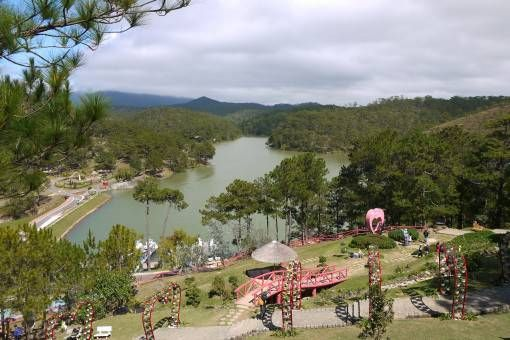 Valley of Love, Dalat Vietnam