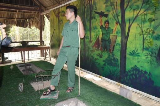 Vietnamese Traps used in the War