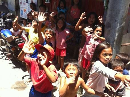 Children in Tacloban City, The Philippines