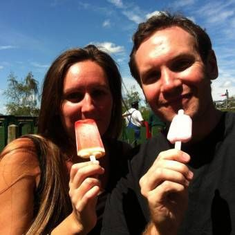 Eating Ice Cream in England
