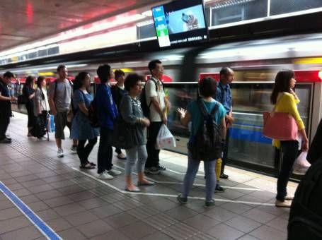 The wonderfully organised public transport inTaipei